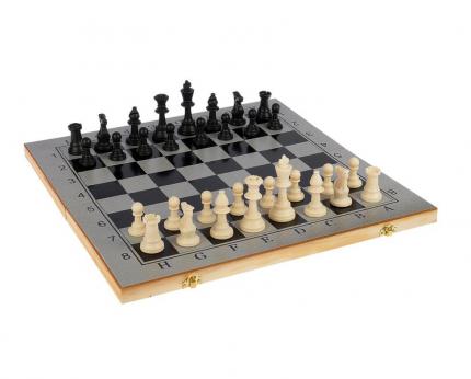 "Настольная игра, набор 3 в 1 ""Шелест"": нарды, шахматы, шашки, доска 48х48см Sima-Land"