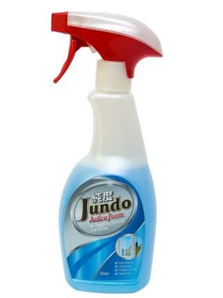 Средство для мытьястеколи зеркал Jundo Active foamс ароматом экзот.фруктов 500мл