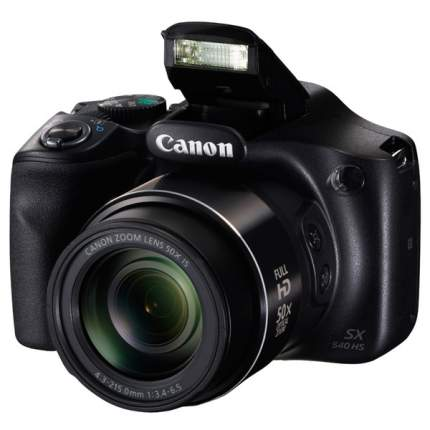 Фотоаппарат цифровой компактный Canon PowerShot SX540 HS Black