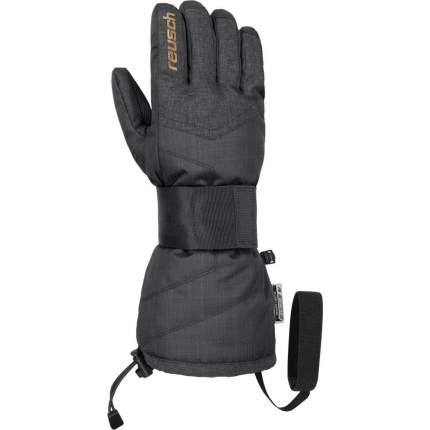 Перчатки Reusch Baseplate R-Tex® Xt, black/black melange/gold, 7 Inch