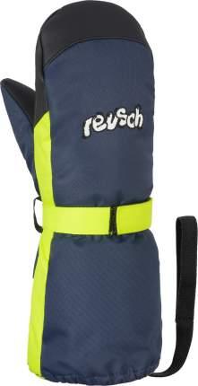 Варежки Reusch Happy R-Tex® Xt Mitten, dress blue/safety yellow, 5 Inch