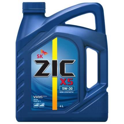 Моторное масло Zic X5 5W-30 4л
