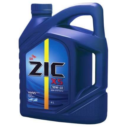 Моторное масло Zic Х5 10W-40 4л