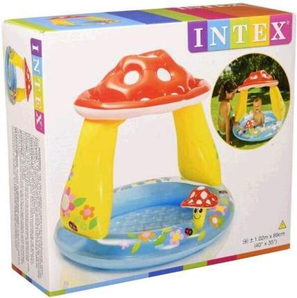 Детский бассейн INTEX Грибок 102х89 см