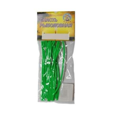Кембрик рыболовный флюоресцентный зеленый Три Кита К-0,8х1,5(З)м