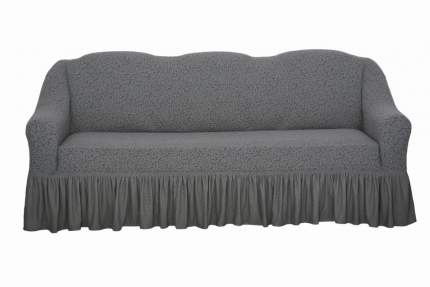 "Комплект чехлов на диван и кресла ""Жаккард"" Venera, серый, 3 предмета"