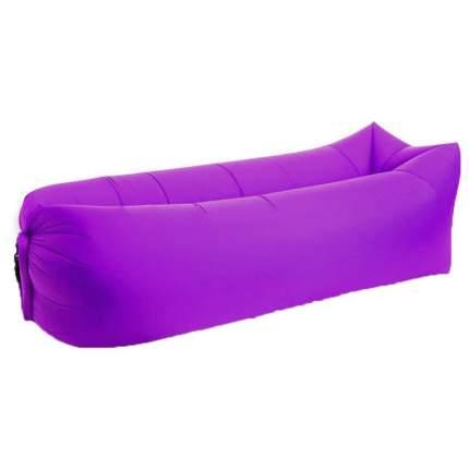 Надувной диван/Биван Baziator P0066F 240 х 70 см фиолетовый