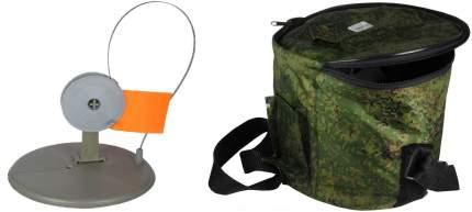 Набор из 10-и жерлиц в сумке Ж-ПС(серая)-сумка