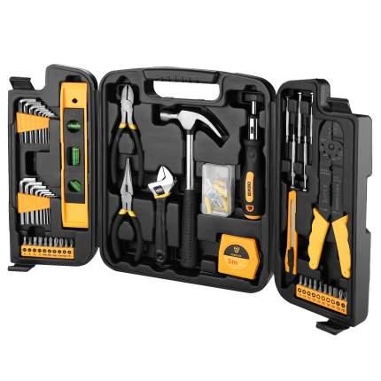 Набор инструмента для дома в чемодане Deko DKMT130 (130 предметов) 065-0741