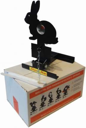 Мишень для пневматики Заяц подъёмная металл 3мм Ж4