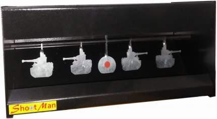 Мишень автомат с пулеулавливателем танки МА-Т