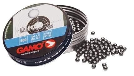 Шарики для пневматики Gamo Round 4,5 мм, 500 шт.