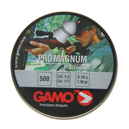 Пули для пневматики калибр 4,5 мм Gamo ProMagnum(500)
