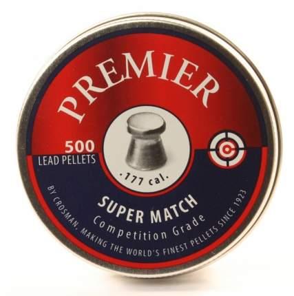 Пули для пневматики калибр 4,5 мм CROSMAN Super Match(500)
