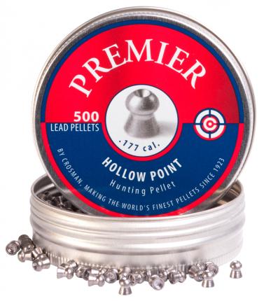 Пули для пневматики калибр 4,5 мм Crosman Hollow Point(500)