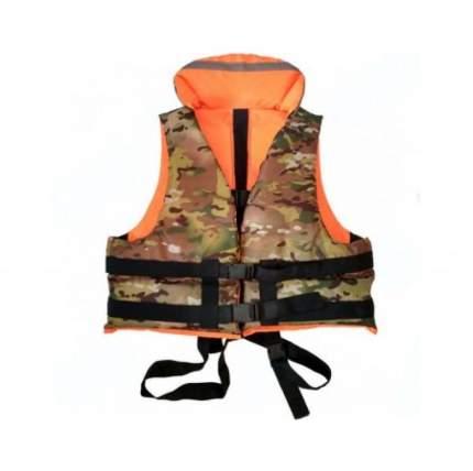 Спасательный жилет Poseidon Fish ЖС-ПФ120, оранжевый/хаки, One Size