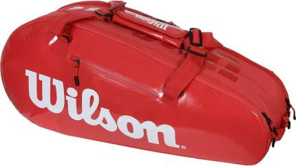 Сумка Wilson Super Tour 2 Comp Small Красная