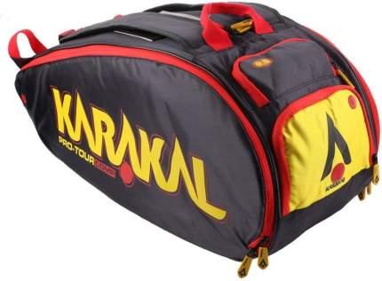 Сумка Karakal Pro Tour Comp Чёрно-жёлтая