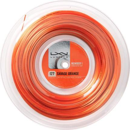Теннисная струна Luxilon Savage Orange 1,27  200 м