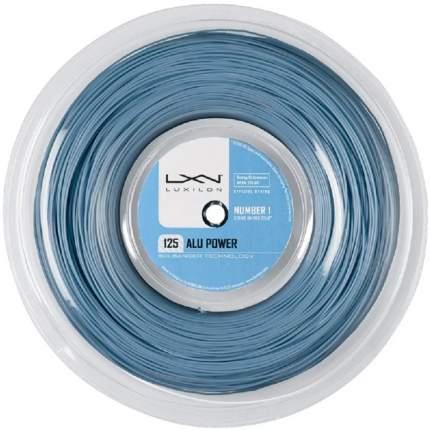 Теннисная струна Luxilon Alu Power 1,25 Ice Blue 200 метров