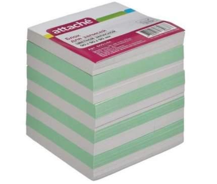 """Запасной блок-кубик для записей """"Эконом"""", 9х9х9 см, цветной"""