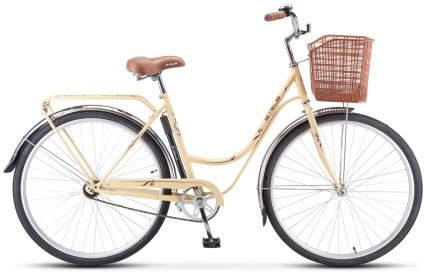 """Велосипед Stels Navigator 325 Lady 28 Z010 2021 20"""" слоновая кость/коричневый"""