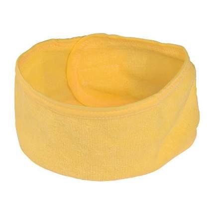 Повязка на липучке для волос IRISK, желтая, 58 см
