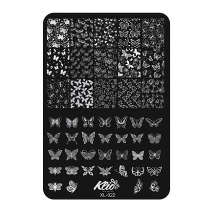 Пластина для стемпинга Klio Professional №022