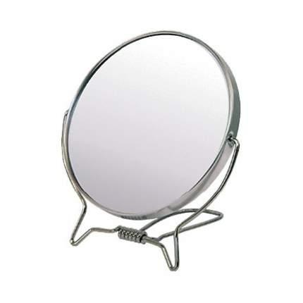 Зеркало настольное Hairway Professional в металлической оправе, круглое 11 см