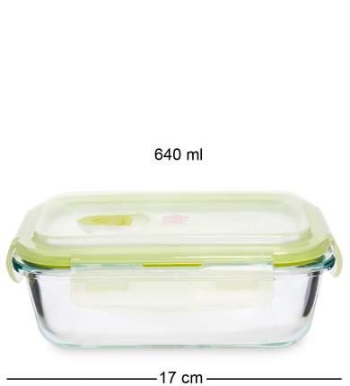 Контейнер прямоугольный стеклянный 640 мл Art Home HM-01/06