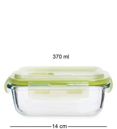 Контейнер прямоугольный стеклянный 370 мл Art Home HM-01/05