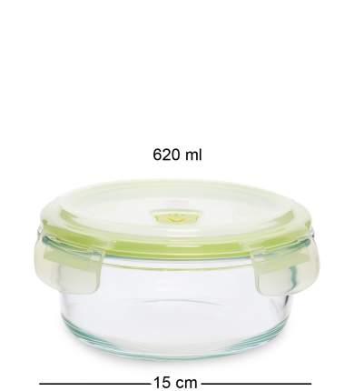 Контейнер круглый стеклянный 620 мл Art Home HM-01/03
