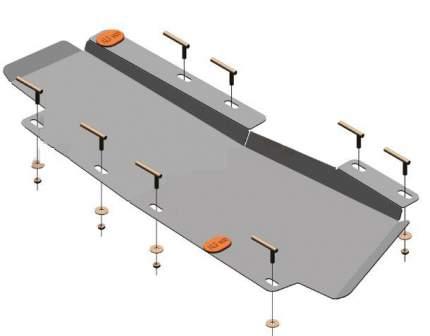 Защита тормозной магистрали ALFeco для Chery Tiggo 4, 7 2.0 2019  сталь 2 мм alf0219.2st