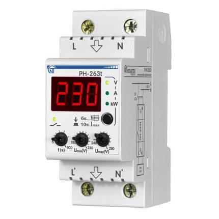 Реле контроля напряжения РН-263Т, Новатек-Электро