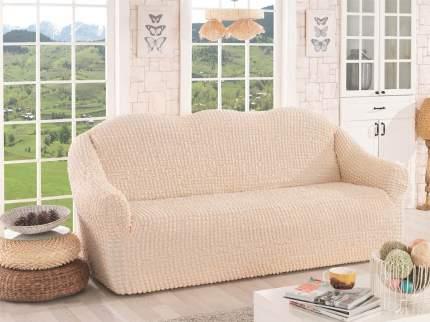 Karna 2652 Чехол для дивана KARNA трехместный , без юбки Натурал