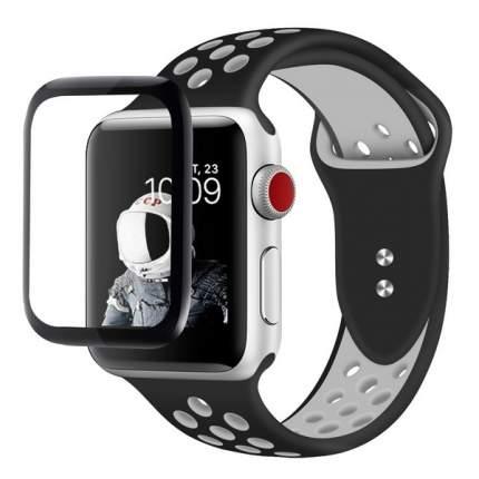 Защитное стекло для смарт-часов Krutoff для Apple Watch 1/2/3 (38 mm)