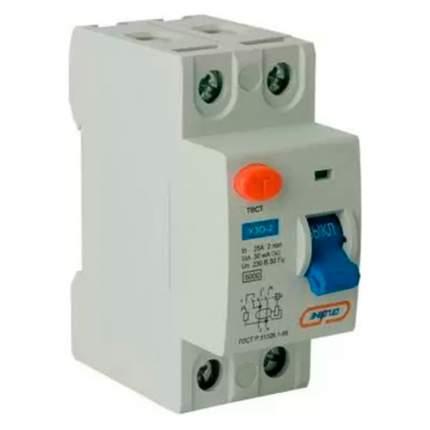 Дифавтомат АВДТ-32 (УЗО2) 25A Энергия