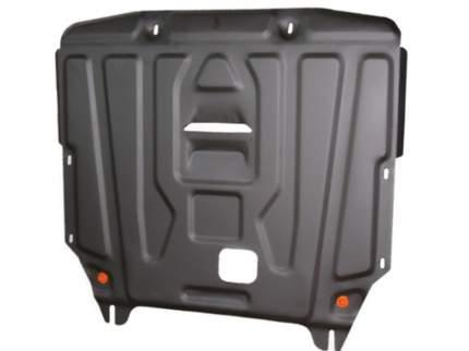 Защита кпп и раздатки ALFeco alf3008st для audi q7 2006-2009 сталь 2 мм