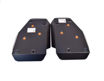 Защита топливного бака ALFeco alf3812st для freelander 2 2 части сталь 2 мм