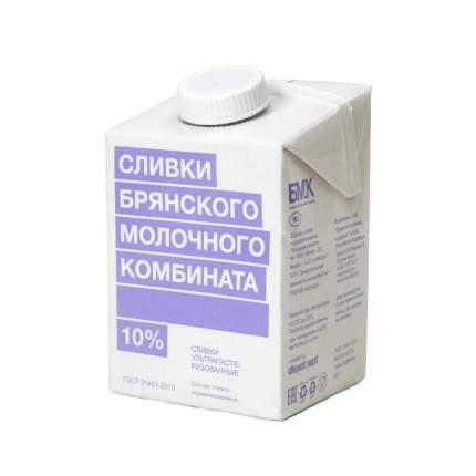Бзмж сливки брянский мк у/паст.10% тва 500г