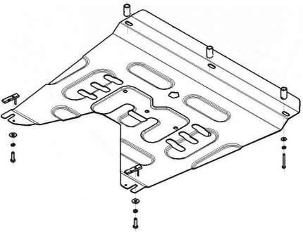 мотодор защита двигателя, кпп kia sorento prime v-2,2d 4x4 motodor.71008