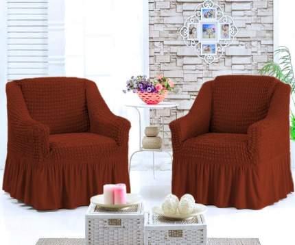 Набор чехлов на 2 кресла, кирпичный