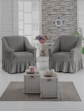 Набор чехлов на 2 кресла, серый