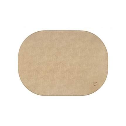 Подставка под горячее Togas Жозеф 44x32 см, 56.75.49.0040, экрю с золотистым