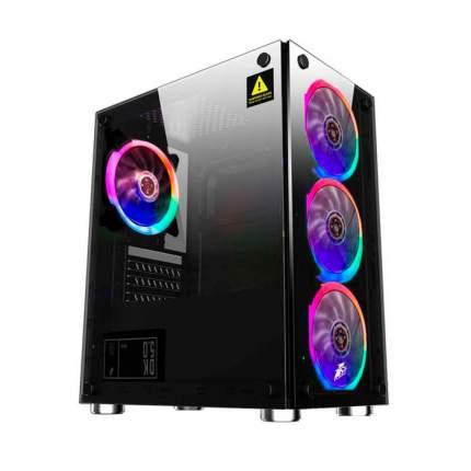 Корпус компьютерный 1STPLAYER Firebase X2 без БП Black