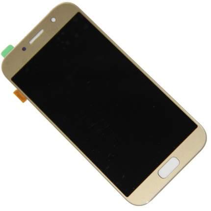 Дисплей для Samsung SM-A520F (Galaxy A5 2017) в сборе с тачскрином, золотой