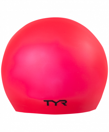 Шапочка для плавания TYR Latex Swim Cap красная