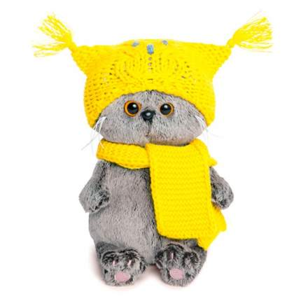 Мягкая игрушка Budi Basa Басик Baby в шапке-сове и шарфе 20 см