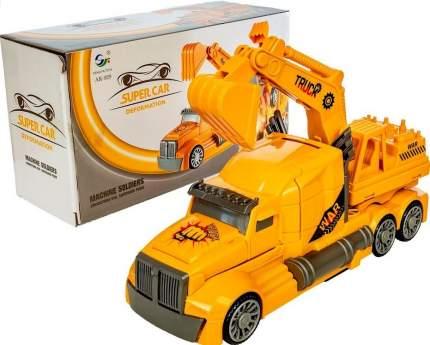 Игрушка Трансформер - Машина-робот Экскаватор (свет, звук) Feng Fa Toys AK-929A