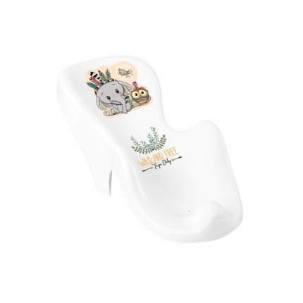 Горка для купания Tega Baby DZ Слоник бело-зеленый
